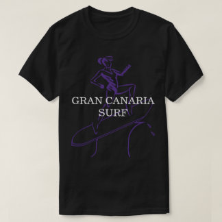 Gran Canaria Surf T-Shirt Black