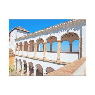 Granada. Andalusia. Spain Canvas Print