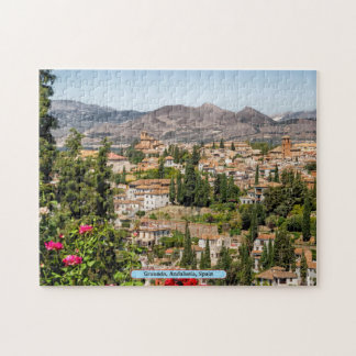 Granada, Andalusia, Spain Jigsaw Puzzle