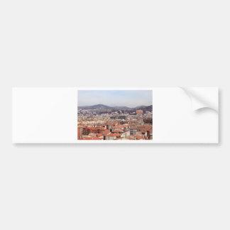 Granada Buildings Spain Bumper Sticker
