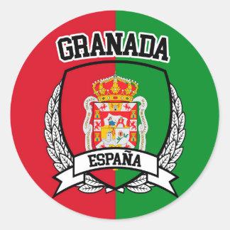 Granada Classic Round Sticker