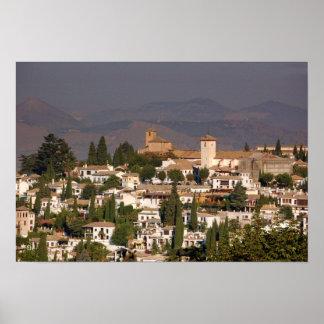 Granada Landscape Poster