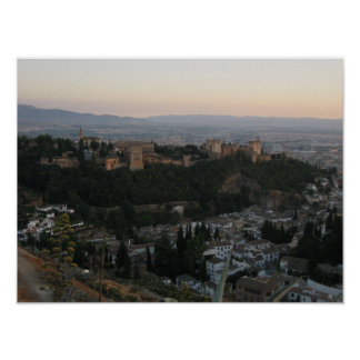 Granada Spain, Alhambra Value Poster Paper