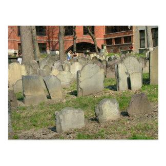 Granary Burying Ground Postcard