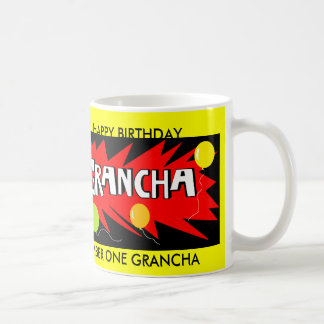 GRANCHA BIRTHDAY MUG