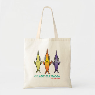 Grand Bahama 3-Fishes Tote Bag