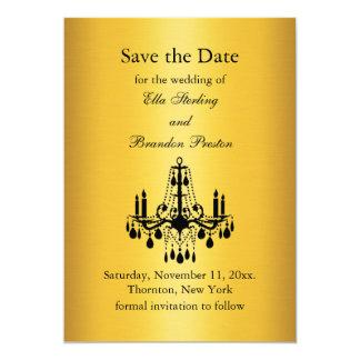 Grand Ballroom Save the Date 13 Cm X 18 Cm Invitation Card