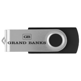 Grand Banks Boats USB Swivel Flash Drive Memory