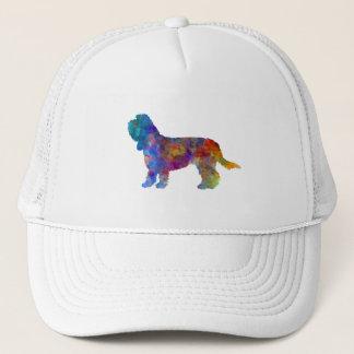 Grand Basset Griffon Vendeen in watercolor Trucker Hat