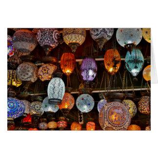 Grand Bazar In Istanbul, Turkey Greeting Card