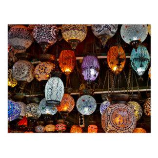 Grand Bazar In Istanbul, Turkey Postcard