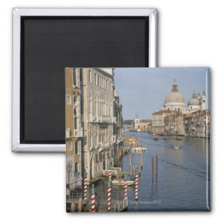 Grand Canal and Santa Maria Della Salute Church Square Magnet