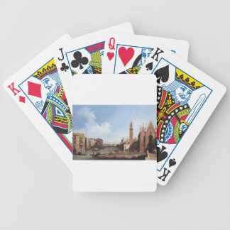 Grand Canal From Santa Maria Della Carita Poker Deck