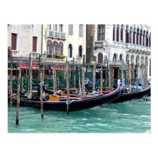 Grand Canal Gondolas Postcard