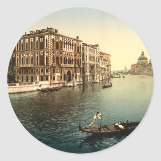 Grand Canal II, Venice, Italy Round Sticker