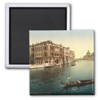 Grand Canal II, Venice, Italy Square Magnet