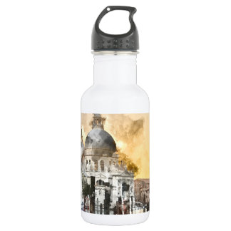 Grand Canal of Venice Italy 532 Ml Water Bottle
