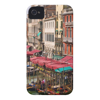 Grand Canal of Venice Italy with gondola boats Blackberry Case