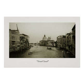 Grand Canal Poster