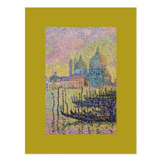 Grand Canal, Venice by Paul Signac Postcard