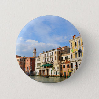 Grand Canal, Venice, Italy 6 Cm Round Badge