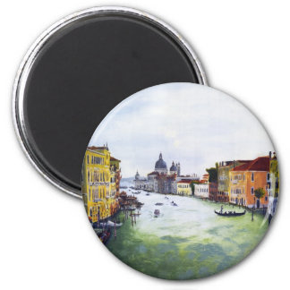 Grand Canal, Venice, Italy 6 Cm Round Magnet