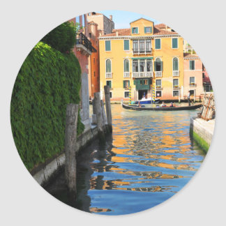 Grand Canal, Venice, Italy Classic Round Sticker