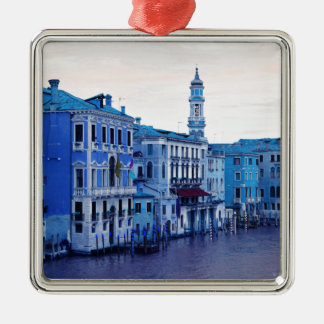 Grand Canal, Venice, Italy Metal Ornament