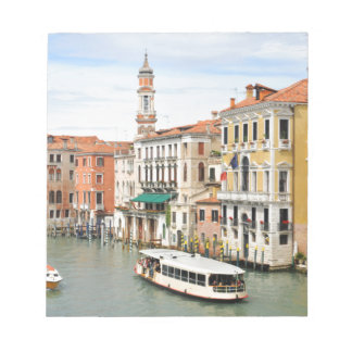 Grand Canal, Venice, Italy Notepad