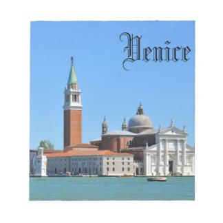 Grand Canal, Venice, Italy Notepad