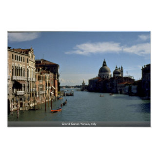Grand Canal, Venice, Italy Poster