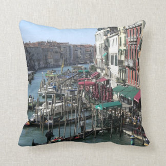 Grand Canal Venice Italy Throw Pillow