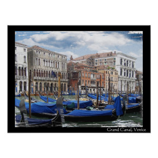 Grand Canal, Venice Poster