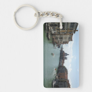 Grand Canal, Venice Rectangle Keychain