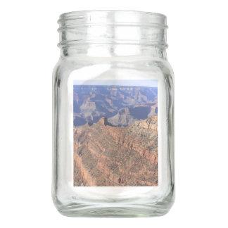 Grand Canyon 4-sided Mason Jar