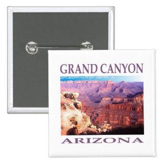 Grand Canyon Arizona 15 Cm Square Badge