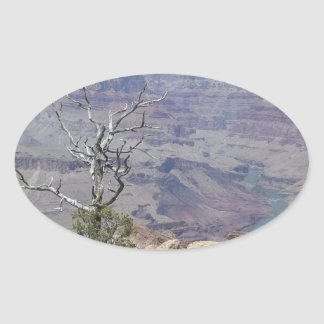 Grand Canyon Arizona Oval Sticker