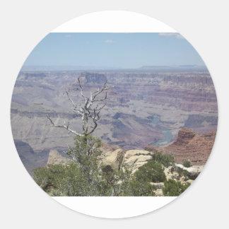 Grand Canyon Arizona Round Sticker