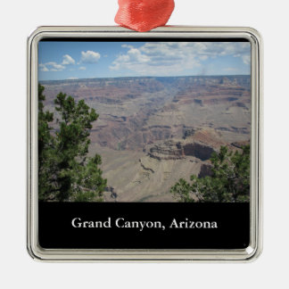 Grand Canyon, Arizona Silver-Colored Square Decoration