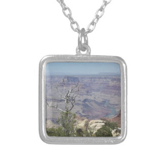 Grand Canyon Arizona Silver Plated Necklace