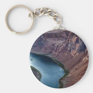 Grand Canyon Basic Round Button Key Ring