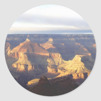 Grand Canyon Colors Round Sticker