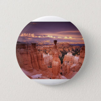 Grand Canyon during Golden Hour 6 Cm Round Badge