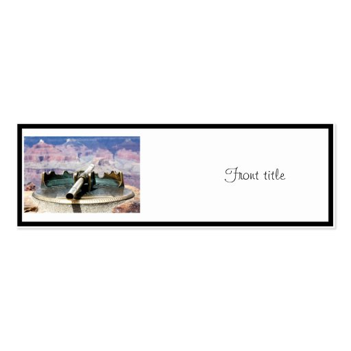 Grand Canyon Fixed Telescope Business Cards