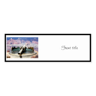 Grand Canyon Fixed Telescope Pack Of Skinny Business Cards