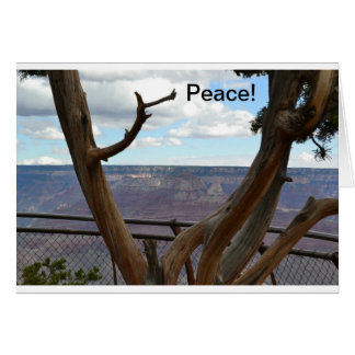 Grand Canyon framed notecard