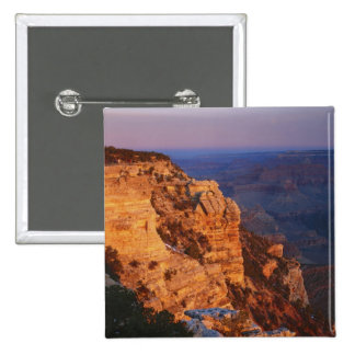 Grand Canyon from south rim, Grand Canyon 15 Cm Square Badge