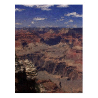 Grand Canyon from South Rim in Arizona Postcard