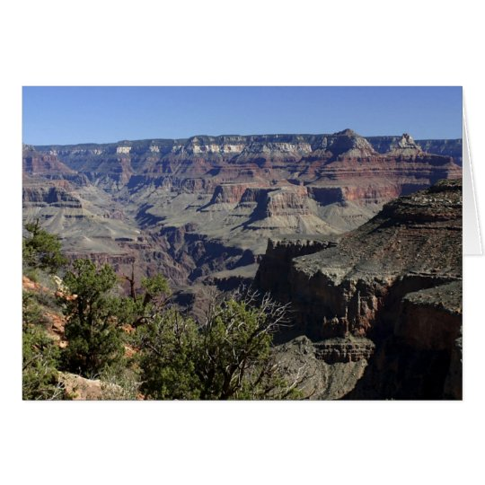Grand Canyon from the North Rim Card