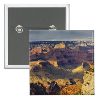 Grand Canyon from the south rim at sunset, 15 Cm Square Badge